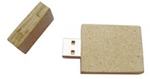 pendrive usb AC - PAPEL RECICLADO