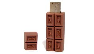 pendrive usb AC - TABLETA CHOCOLATE